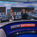 WATCH: @SoccerSaturday reacts to @vardy7s record-breaking goal https://t.co/RhwAEYXnte https://t.co/XevJj5HtYs
