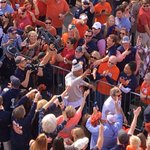 Love it, Cam leading #TigerWalk today! #WarEagle @AUFAMILY https://t.co/1Oy4QgSvdx