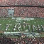 Both USC & Clemson Bands played a combined performance at halftime to honor the Emanuel 9. #SCStrong https://t.co/lpo485iTaT