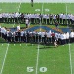 Auburn prayer circle before the Alabama game https://t.co/yslt4haAq1