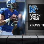 Have a day. Paxton Lynch ties an FBS record for Pass TD in any half with 7. https://t.co/khTkeIyMdo