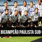 É CAMPEÃO!! Com placar agregado de 6 a 3, Corinthians conquista o Bi do Paulista Sub-20. #VaiCorinthians https://t.co/14jesMgARm