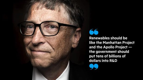 Great news on eve of #COP21: Bill Gates to launch the biggest clean energy fund in history https://t.co/CazG1HLgq0 https://t.co/j616QzCUXz