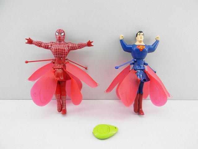 Как сделать из игрушки человека паука