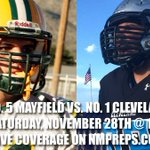 Saturday Preview: Mayfield hosts No. 1 Cleveland https://t.co/fUgHRXmasd https://t.co/CC9UzHtv5h