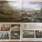 Ireland features on front of @washingtonpost travel section again, with special wraparound cover of Galway @rtenews https://t.co/RiCpy1Zg1Y