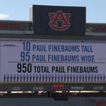 How many Finebaums is Auburns video board? https://t.co/5GbeZkPGaE