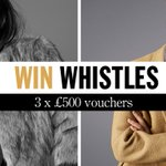 ???? Xmas giveaway #4! ???? Win one of three £500 vouchers for @ThisIsWhistles: https://t.co/GO3uhvxMXQ https://t.co/xN1vl3PKwA