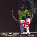 The last time Ohio State and Michigan played at Michigan Stadium, this happened: https://t.co/PUvJaZL2Lu