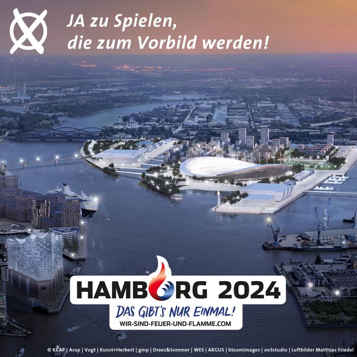 Sagen Sie heute JA zu Olympischen & Paralympischen Spielen in #Hamburg2024. https://t.co/XFiaFJNIVY