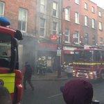 Emergency services fight blaze in #Dublin city-motorists experience major traffic disruption https://t.co/qCB5HuCl5n https://t.co/dFxDv8SFQn