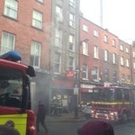 RT DubFireBrigade: Some images from Capel St fire, road closed #dublin #fire https://t.co/KiloC5WiSv
