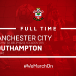 FULL TIME: #MCFC 3-1 #SaintsFC @RonaldKoemans men are beaten away from home for the first time this season. https://t.co/x60isbGSCY