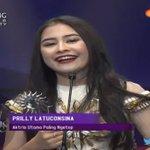 Selamat @PrillyBie memenangkan kategori Aktris Utama Paling Ngetop #SCTVAwards https://t.co/2BJ96JJA41