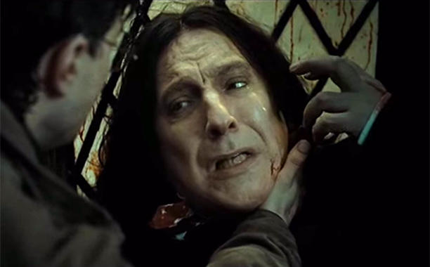 J.K. Rowling explains why HarryPotter named his son after Snape: