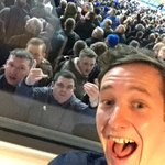 @TSBible @TheLadBible celebrating with the away fans from the box https://t.co/qQVfDkMk8z