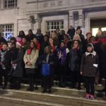 @HackneyEmpire Community Choir about to get the @hackneycouncil Xmas light switch on ! https://t.co/584FAf9MoY