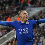Jamie Vardy. Premier League record breaker, scoring in his last 11 Premier League apps. 13 goals in that time. #LCFC https://t.co/IEYYg0pGnL