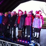 Our choir sang brilliantly today at Frodsham Christmas Festival. Got everyone in the Christmas mood! @FrodshamNews https://t.co/SUeqOatreU
