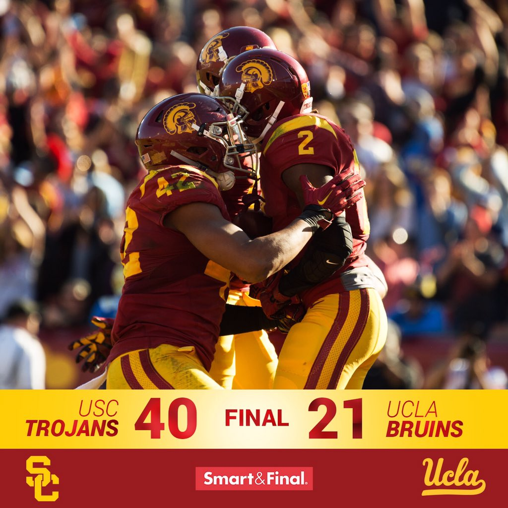 2015 Pac-12 South Champions. #FightOn https://t.co/y6TBX12upn