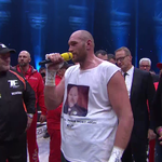 Tyson Fury sings Aerosmith to his wife and the crowd https://t.co/i2fyVrFowu https://t.co/PPUaEAG2Ga