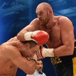 A new heavyweight champion! 6-foot-9 Tyson Fury upsets Wladimir Klitschko by unanimous decision. #klitschkofury https://t.co/hKPKqKwPMR