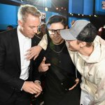 .@justinbieber + @skrillex + @diplo = #AMAs ???????????? More pics here: https://t.co/NXQknIaPjF https://t.co/yNHdlEuWOq