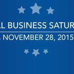 Today is #SmallBizSat. Show your support by shopping and dining small. https://t.co/whF8qmUU5i https://t.co/QiEjfSCYpo
