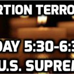 Monday in DC: Vigil to Stop Abortion Terrorism. Bring battery operated candles. Please RT. https://t.co/iNSuat7FqE https://t.co/c6bLr3yk5K