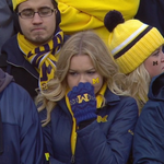Its the return of the sad Michigan fans. https://t.co/Z3Y0KkgW65