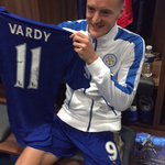 Hes done it!! Congrats @vardy7 on breaking the record! #11inarow ???????????? https://t.co/wRBb6XjH2b