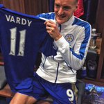 Congratulations @vardy7! https://t.co/gd80tOlPPZ