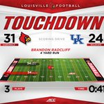 Cards take the lead on Radcliffs 2nd TD of the game! https://t.co/W7c8V6qUED