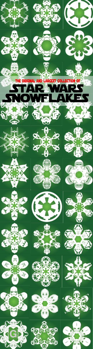 @StarWarsJunk if you are willing, would you mind sharing our SW snowflake designs?  https://t.co/uDnosWJlI5 https://t.co/vtKcy4zbie