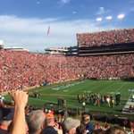 Haha, Auburn stuck Alabamas band at the top of the normal section. https://t.co/HAZTuhXfFo