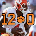 PERFECTION! #1 Clemson finishes its regular season 12-0 for just the 2nd time in school history. https://t.co/ODQdRE9hBL
