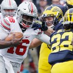 Final: Ohio State 42, Michigan 13. Dominating performance from the Buckeyes, who move to 11-1. https://t.co/s07Re0pyXl