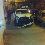 Accidente en Santo Domingo.No hubo heridos #lugo https://t.co/ajnykM3Msy