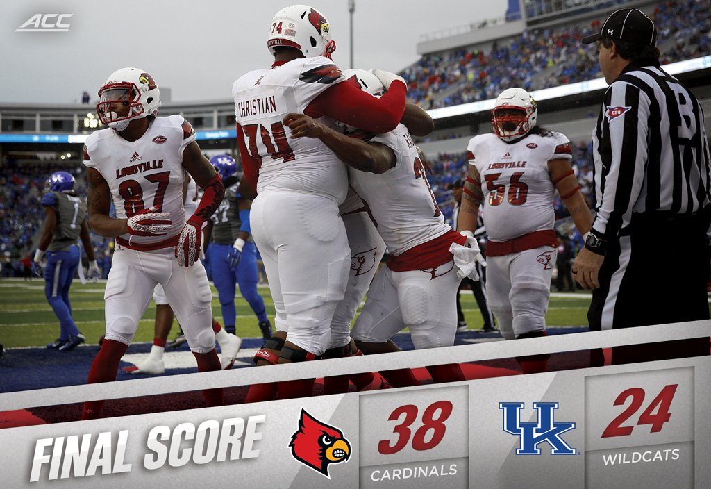 Louisville claims the Governor's Cup for the 5th straight season -- longest streak in the modern era of the series. https://t.co/W06BkEtFqG