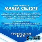 FAVOR DE DAR RT!! ¡¡¡HOY TODOS LOS JAIBOS A UNIRNOS EN UNA SOLA VOZ!!! SE ACERCA LA MAREA CELESTE #tampico #madero https://t.co/C4COL4XoiN