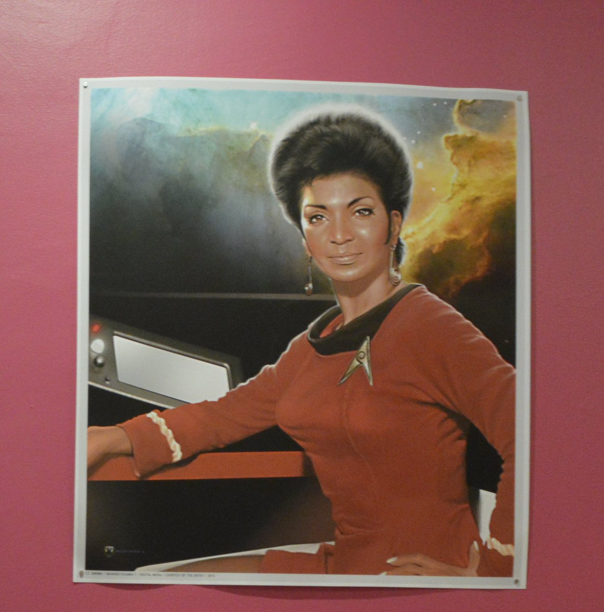 @djolder Thanks! We had a good talk. Told her about Nichelle Nichols, and how MLK convinced her to stay on the show. https://t.co/aNgfQHY220