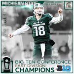 Michigan State has clinched the Big Ten East Division! #ReachHigher https://t.co/XbcuCUg8uI