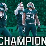 #5 Michigan St. dominates Penn St. 55-16 & is headed to its third Big Ten Championship Game in five seasons. https://t.co/jRYZgWGCqi