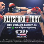 Follow all the action between @Klitschko and @Tyson_Fury LIVE here: https://t.co/i2fyVrFowu https://t.co/ngi1BV4Dm8