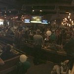 Panoramic from the @MSU_Football watch party in Anaheim. 750+ Spartans. Theres another whole room plus a patio! https://t.co/L7GCwzFADw