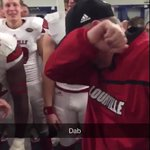 @CoachPetrinoUL #Dab game is strong!!! #GoCards https://t.co/l3NISE8YIl