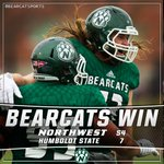 ITS A FINAL. @NWBearcatsFB with a 54-7 victory over Humboldt State in the NCAA Playoff 2nd round! #oabaab https://t.co/bl75lEEeQB