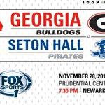 #UGA faces Seton Hall at 7:30 on @FS1! #GoDawgs Game Notes: https://t.co/rRy6x25zdP Stream: https://t.co/Uio5JVC3rO https://t.co/mN27KoLVJn