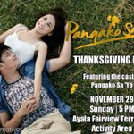 See you later KathNiels and PSY Fanatics #PSYThanksgivingDay 5PM - Fairview Terraces. ???? https://t.co/Uw90DJeXlH