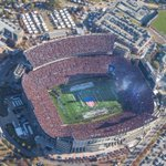 Can you spot the F-16s from todays flyover? #IronBowl #WarEagle https://t.co/4iL6qRsCDk
